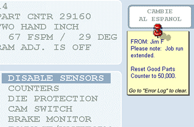 SmartView Remote Message