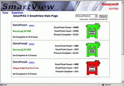 SmartView Web Interface