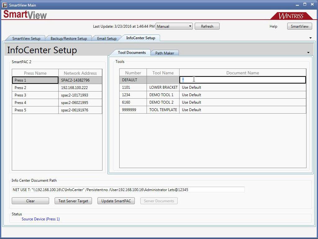 Infocenter pathmaker