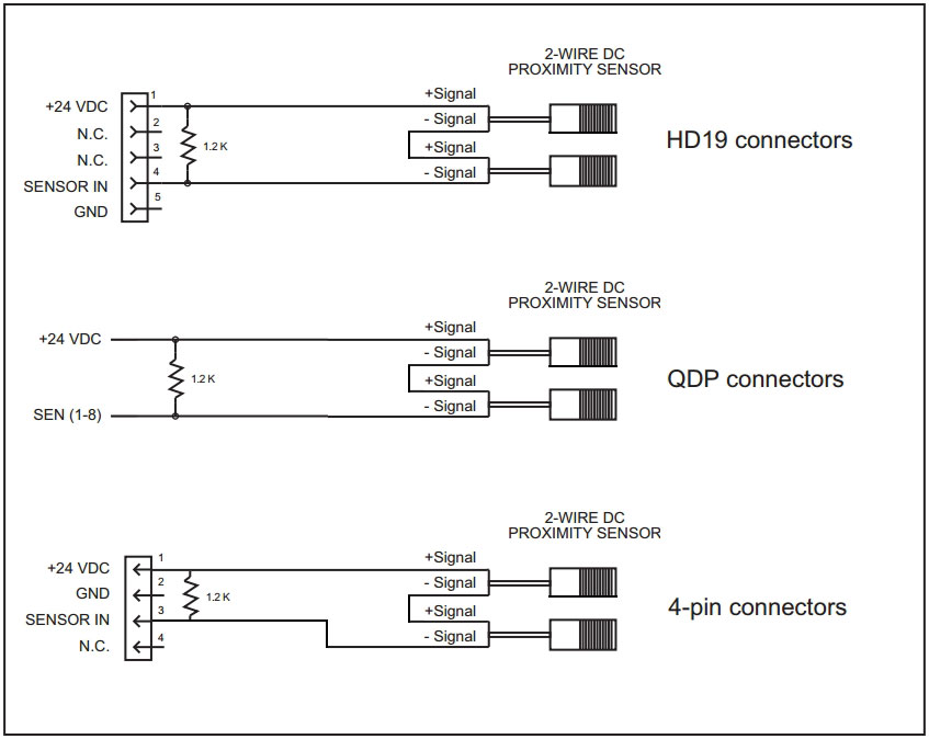 Die Protection - Connecting 2-Wire DC Proximity Sensors In Series to a DSI  2 - Wintriss Controls Group | Proximity Switch Wiring Diagram For A |  | Wintriss Controls