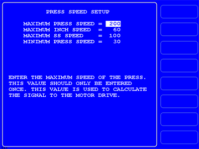 WPC 2000 - Option 2 Speed Control